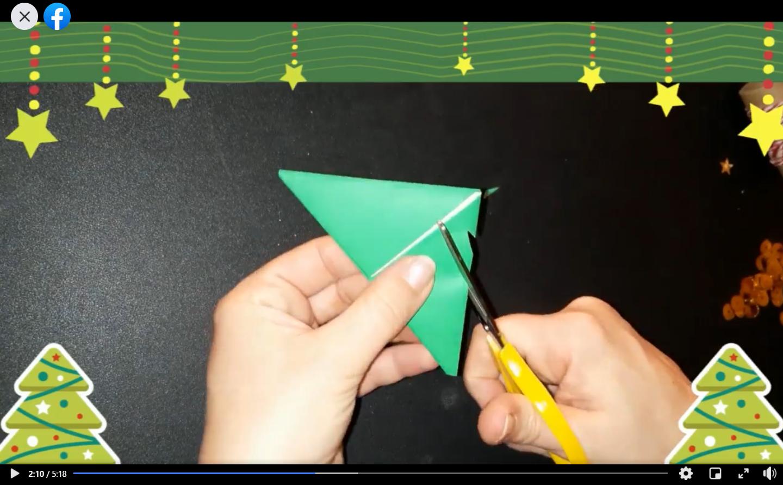 Laboratorio di origami natalizio con Gemma Turnone