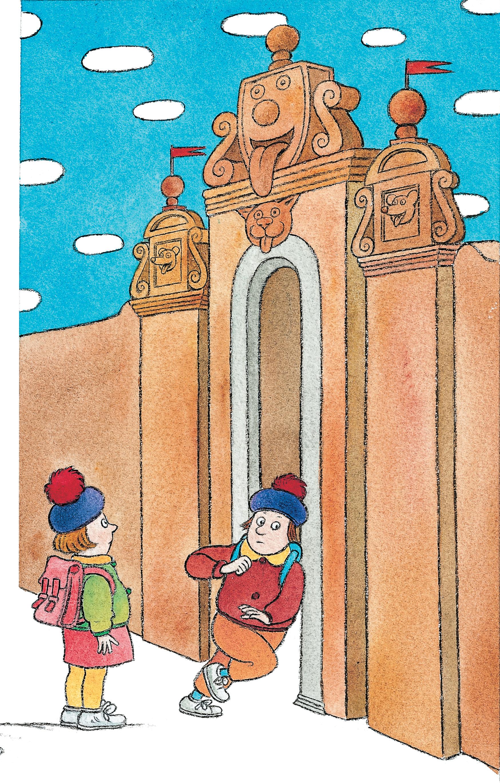 Cecco Marniello illustra la divertente fiaba