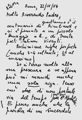 Passione e poesia. Lettere (1954-1657) di Clemente Rebora e Vanni Scheiwiller